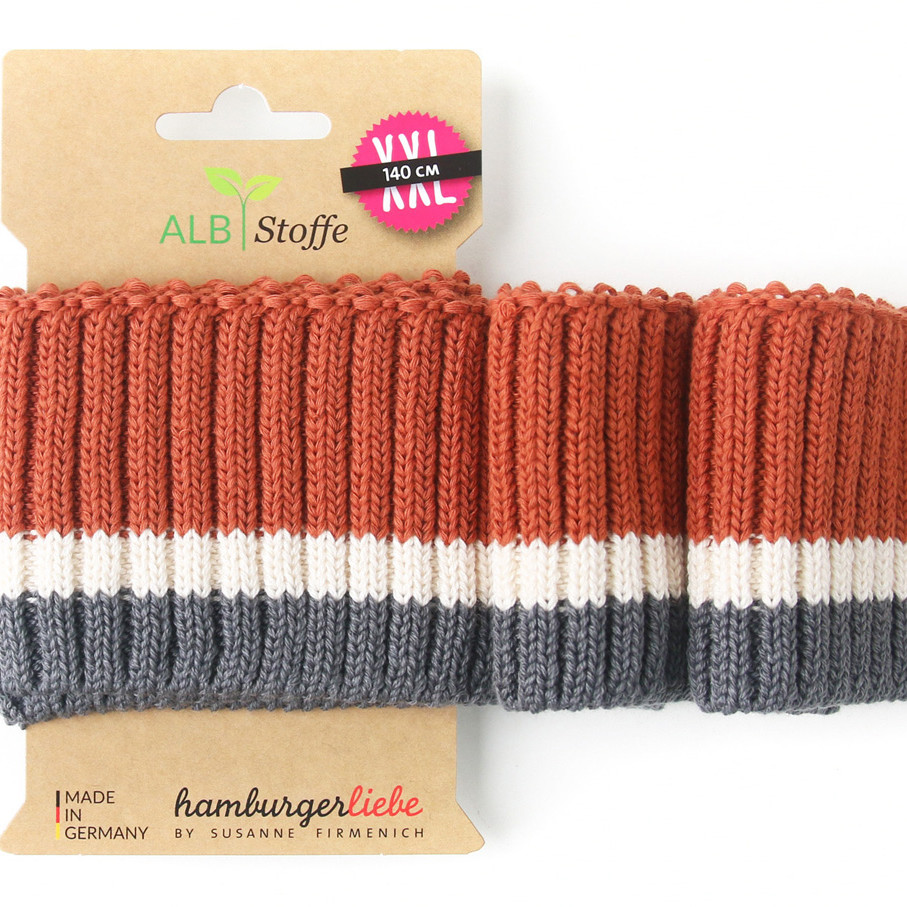 Cuff Me Cozy Stripes 12 Hamburger Liebe Botanical Albstoffe