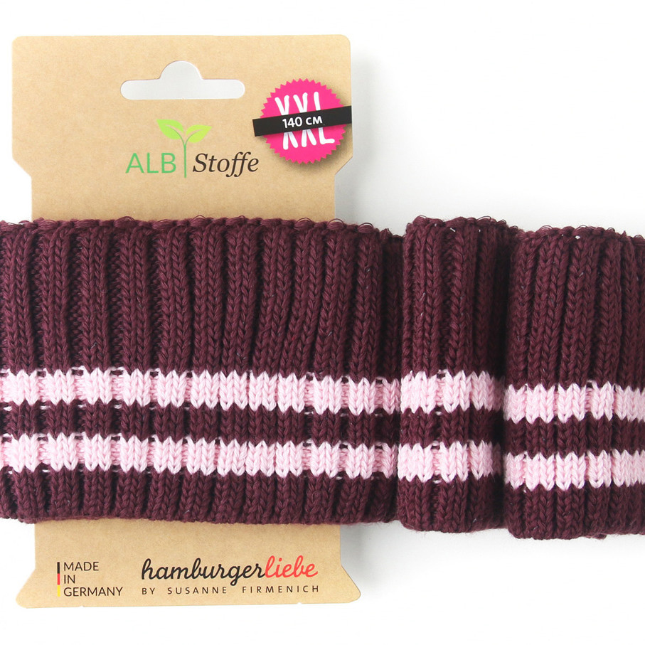 Cuff Me Cozy Stripes 13 Botanical Hamburger Liebe Albstoffe