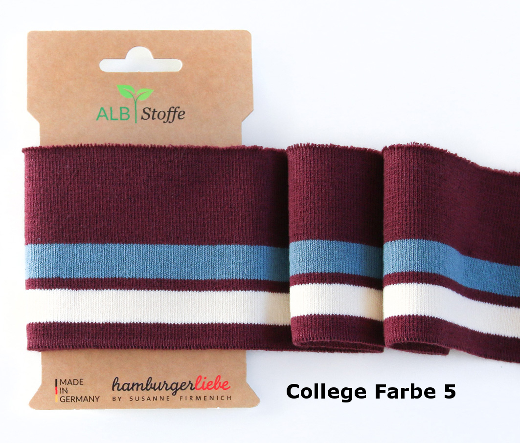 Cuff Me College 05 Pattern Love Albstoffe
