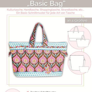 Sewing pattern basic bag by lillesol & pelle