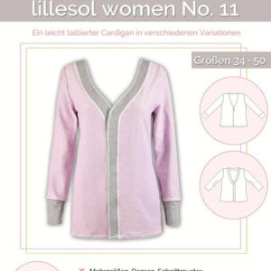 Pattern Paper Cardigan women no. 11 lillesol