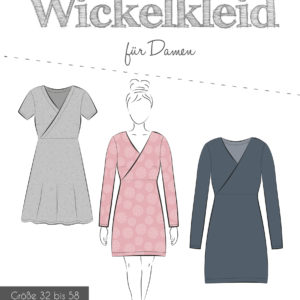 Sewing Pattern Wrapping Dress Women 32-58 Fadenkäfer bei Stoffträume4you