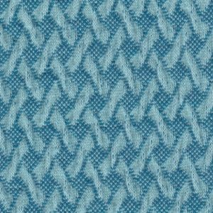 Wave Knit Light Blue Botanical Hamburger Liebe Albstoffe GOTS