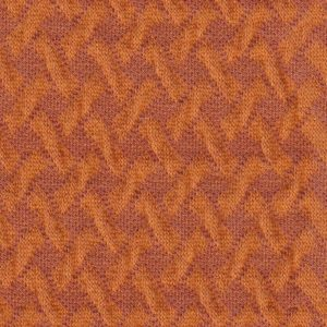 Wave Knit Orange Botanical Hamburger Liebe Albstoffe