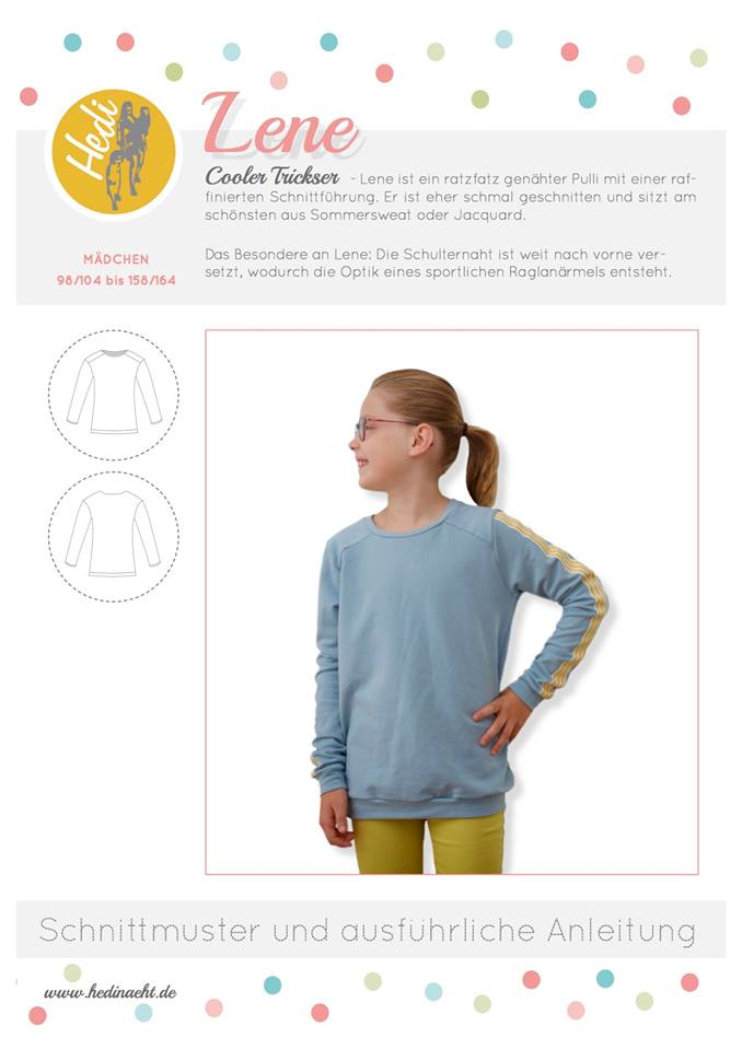 Lene Kids sweater Hedi sews