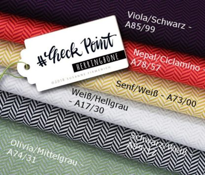 Check Point Herringbone Albstoffe