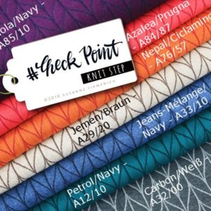 Check Point Knit Step Hamburger Liebe Albstoffe