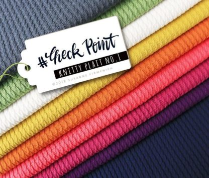 Check Point Knitty Plait alle Hamburger Liebe Albstoffe
