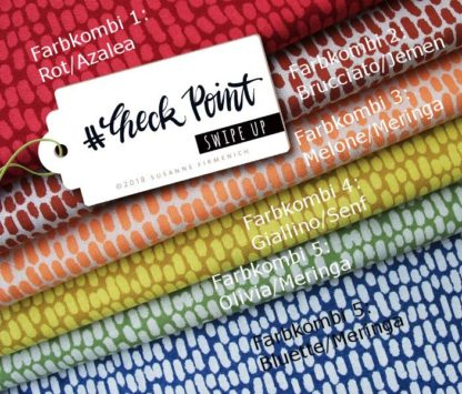 Jacquard Swipe Up Check Point Albstoffe