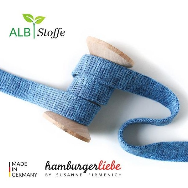 Cord Me Jeans Azzuro Check Point Hamburger Liebe Albstoffe