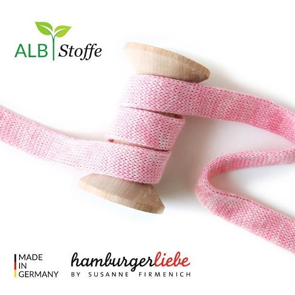 Cord Me mélange Rosa Check Point Hamburger Liebe Albstoffe