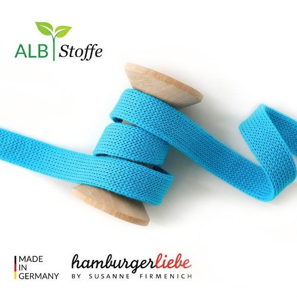 Cord Me Turquoise A16 Check Point Hamburger Liebe Albstoffe