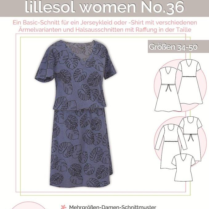 Jerseykleid -Shirt women No.36 Lillesol Pelle