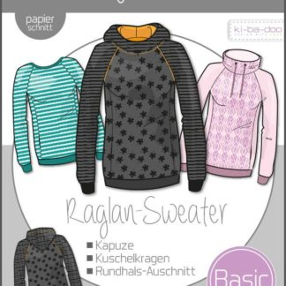 Raglan-Sweater Basic Damen Ki-ba-doo