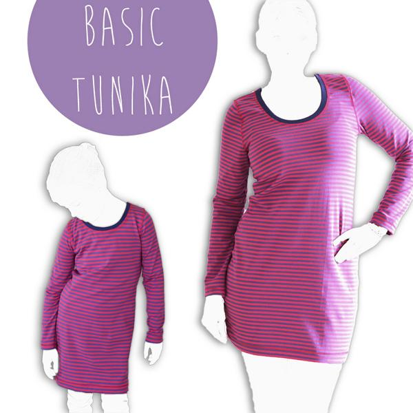 Basic Tunika Shirt Damen Ki-ba-doo