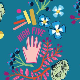 Canvas High Five Hamburger Liebe High Five Hemmers