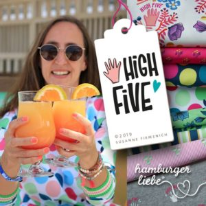 High Five Hamburger Liebe Hemmers Itex Deckblatt Drinks