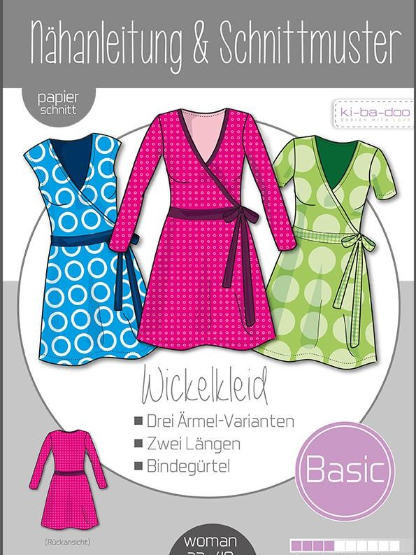 Wickelkleid-BASIC Damen Ki-ba-doo