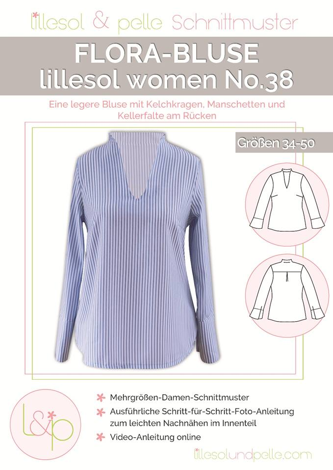 Flora Bluse women No. 38 Lillesol