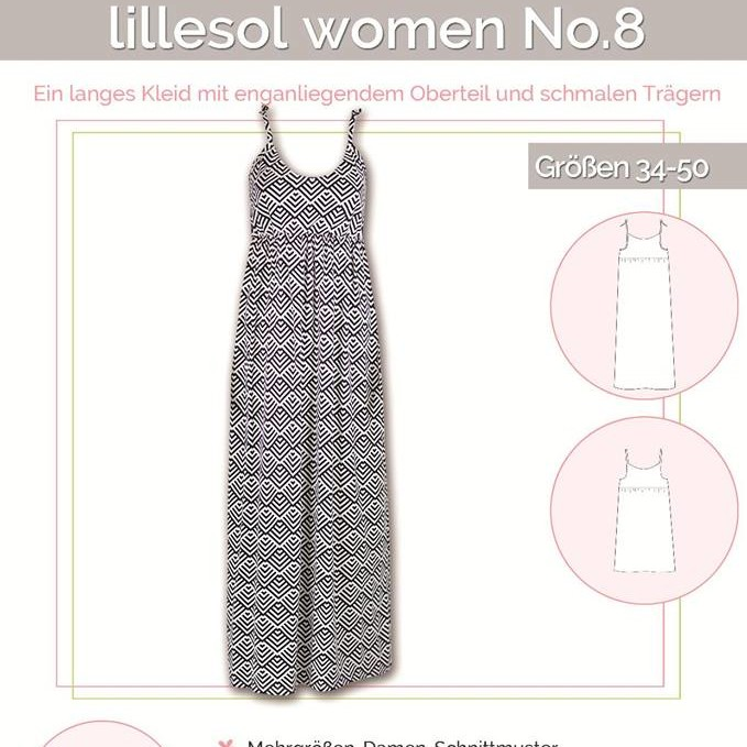 Maxikleid No.8 women lillesol