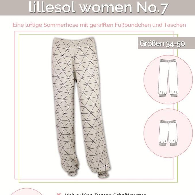 Sommerhose No. 7 women lillesol