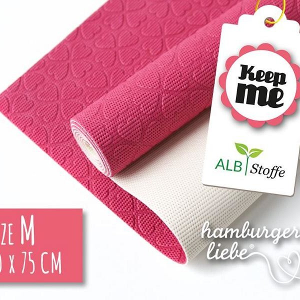 Keep Me ALBSTOFFE Pink Size M Hamburger Liebe commented at Stoffträume4you