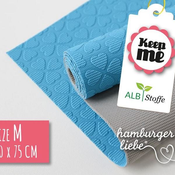 Keep Me ALBSTOFFE turquoise size M Hamburger Liebe commented at Stoffträume4you