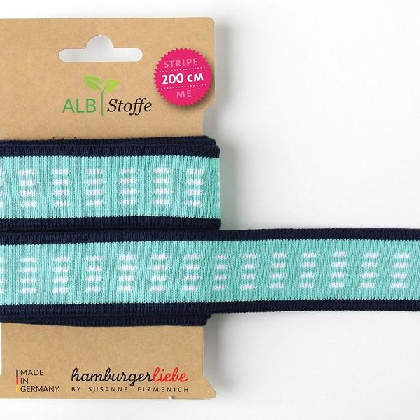 Col. 65 Stripe Me Icon Weekender Albstoffe Hamburger Liebe ribbon