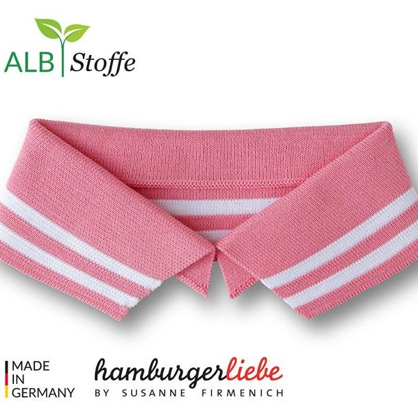 Polo Me A03-01 College Hamburger Liebe WHITESTOFFE
