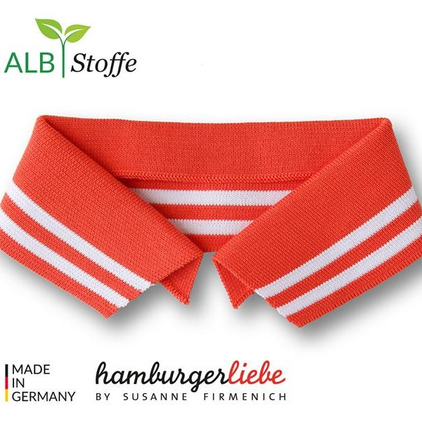Polo Me A78-01 College Hamburger Liebe WHITESTOFFE