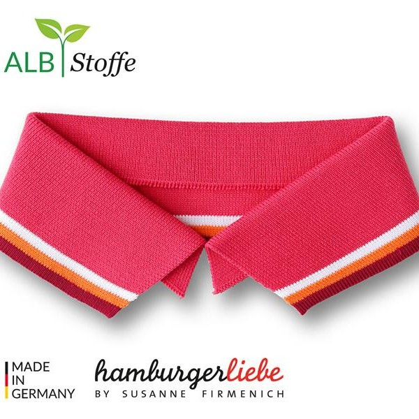 Polo Me A84-01 College Hamburger Liebe WHITESTOFFE