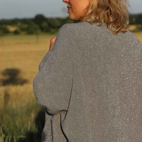 Pre-order knittingstoffe with Gitzer pearl pattern sewing pattern freebie frollein by mojoanma at Stofftraeume4you.de