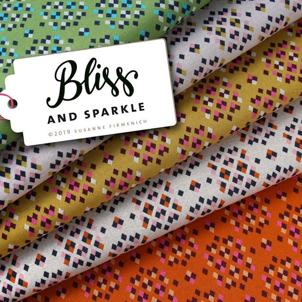 And Sparkle BLISS Hamburger Liebe ALBSTOFFE Jacquard