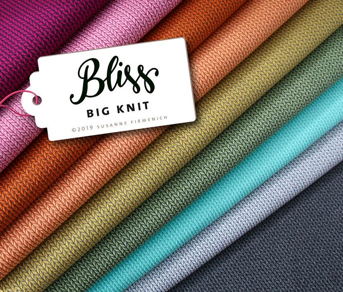 BIG KNIT BLISS Hamburger Liebe ALBSTOFFE