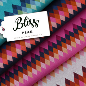 BLISS Peak Hamburger Liebe ALBSTOFFE Jacquard Bio-Stoff Stofftraeume4you