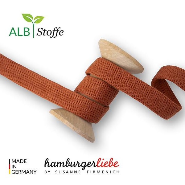 Cord Me Brucciato A75 BLISS Hamburger Liebe WHITESTOFFE