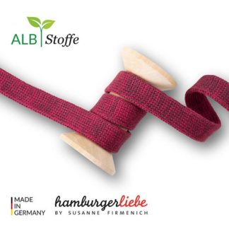 Cord Me Prugna Bordeaux A87-18 BLISS Hamburger Liebe ALBSTOFFE