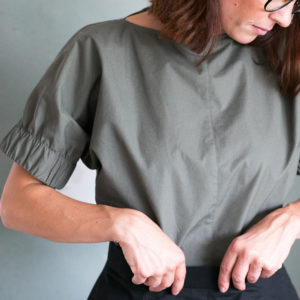 Cuff Top The Assembly Line Stofftraeume4you Designbeispiel Detail