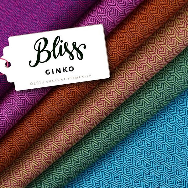 Ginko Knit BLISS Hamburger Liebe WHITESTOFFE