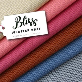 Webster Knit BLISS Hamburger Liebe ALBSTOFFE