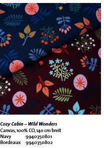 Wild Wonders Canvas Cozy Cabin Hamburger Liebe Hemmers Stofftraueme4you