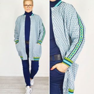 Sew the Look Stofftraeume4you ALBSTOFFE Suska Knit Fence Frau Ava