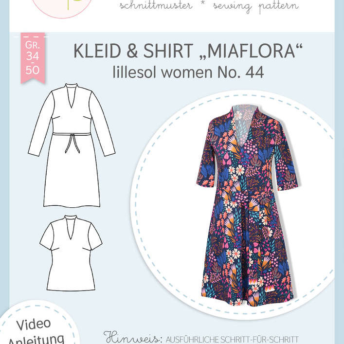 Kleid Shirt Miaflora women No. 44 lillesol