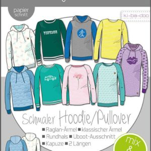 Mix Match Hoodie Kinder Kibadoo stofftraeume4you
