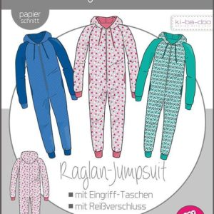 Raglan Jumpsuit Kinder Kibadoo Stofftraeume4you