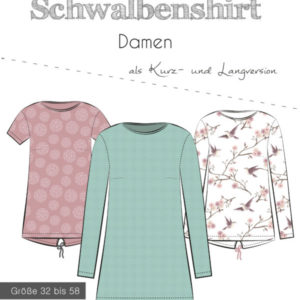 Sewing pattern swallow shirt ladies thread beetle Stoffträume4you