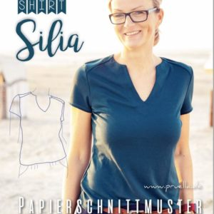 Sewing pattern shirt Silia Pruella Stofftraeume4you