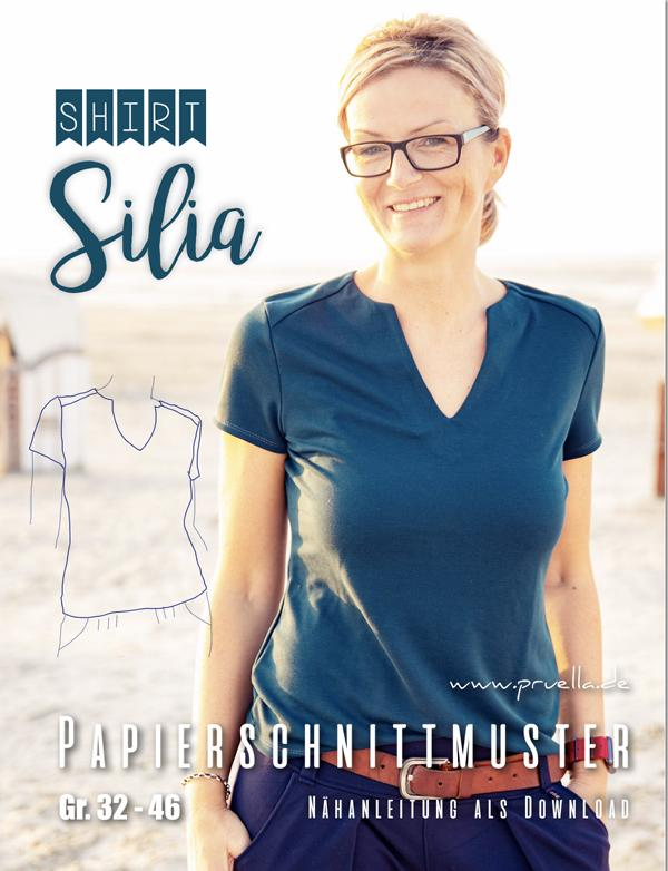 Schnittmuster Shirt Silia Pruella Stofftraeume4you