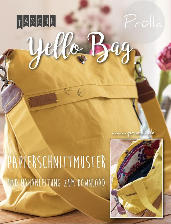 Schnittmuster Yello Bag Pruella Stofftraeume4you