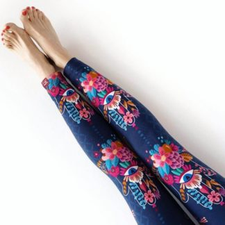 Bio-Jersey CHOOSE LOVE Hamburger Liebe BLAU Leggins Susanne Firmenich ALBSTOFFE Stofftraeume4you
